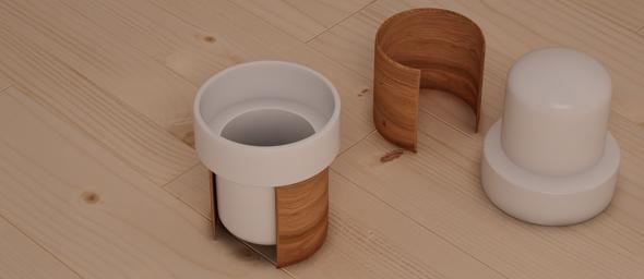 Tonfisk Warm Cup 3d Model - 3DOcean Item for Sale