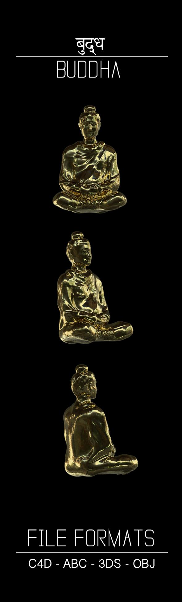 Buddha - 3DOcean Item for Sale