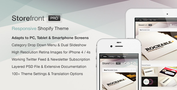 Storefront Pro for Shopify — Premium Theme - Preview