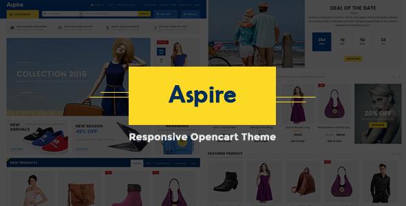 Aspire - Responsive OpenCart Theme