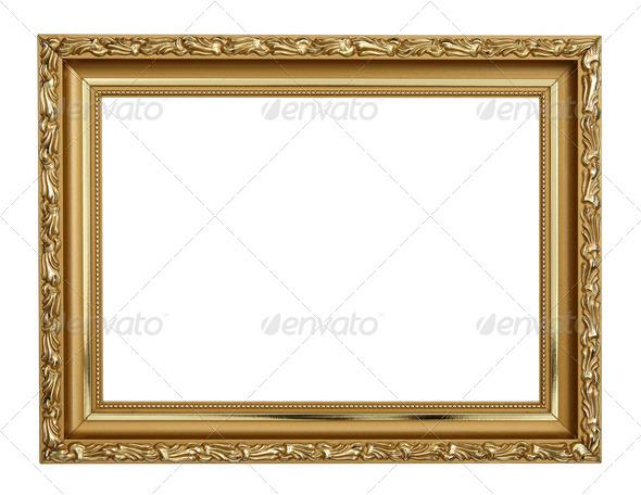 PhotoDune Gold frame 1510192