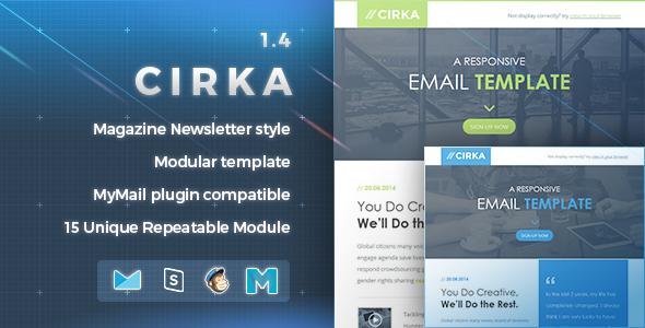 Cirka | Responsive Email Template