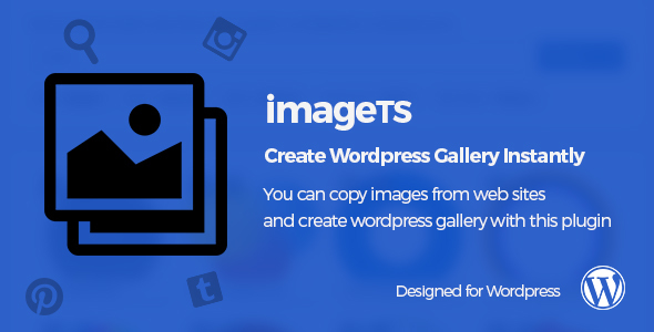 ImageTS – Create WordPress Gallery Instantly