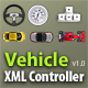 Vehicle XML Controller AS2 v1.0 - ActiveDen Item for Sale