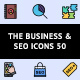The Business & SEO Icons 50