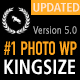 KingSize Fullscreen Photography Theme