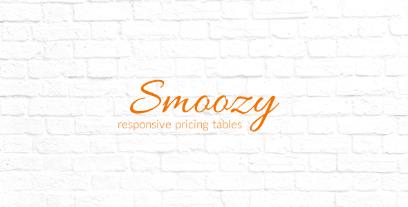 Download Smoozy - Responsive Pricing Tables