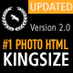 KingSize FullScreen Photography Template
