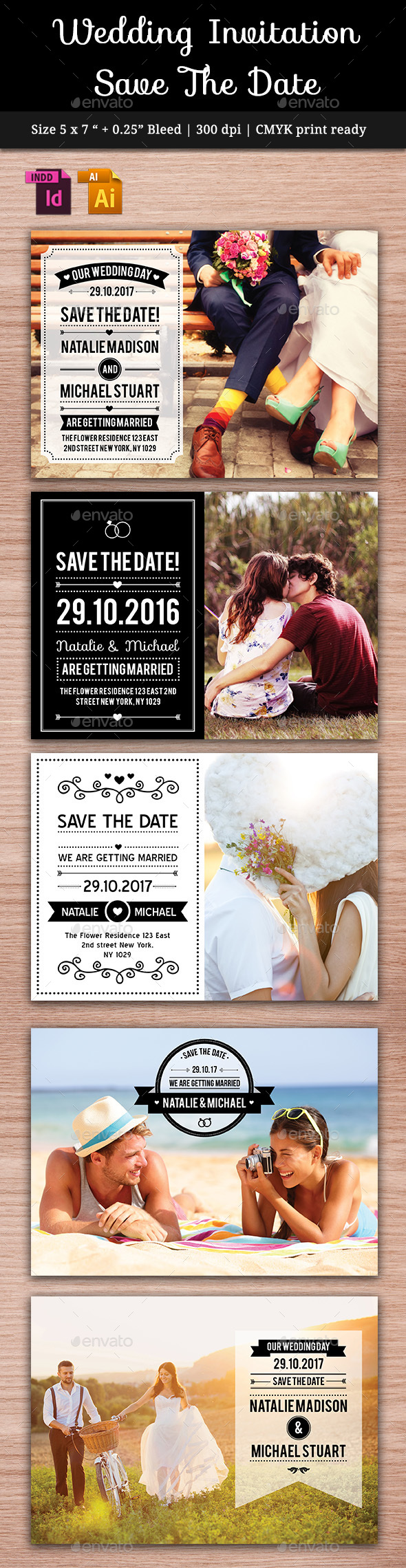 Wedding Save The Date Vol. 2