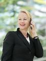 Portrait of a mature businesswoman talking on cellphone