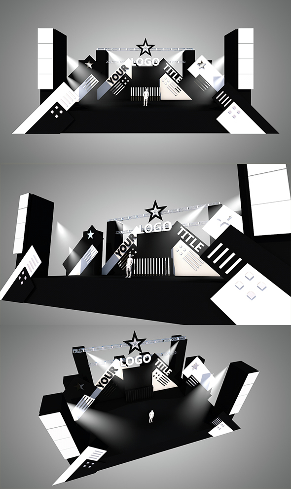 Stage Design vol.2  - 3DOcean Item for Sale