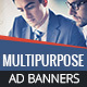 GWD | Multipurpose HTML5 Banners - 7 Sizes
