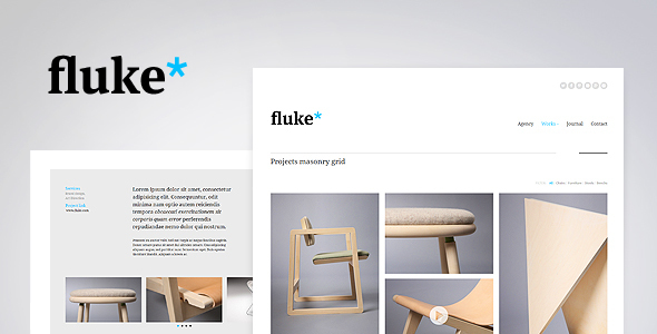 Fluke Responsive Creative Portfolio Template Creative