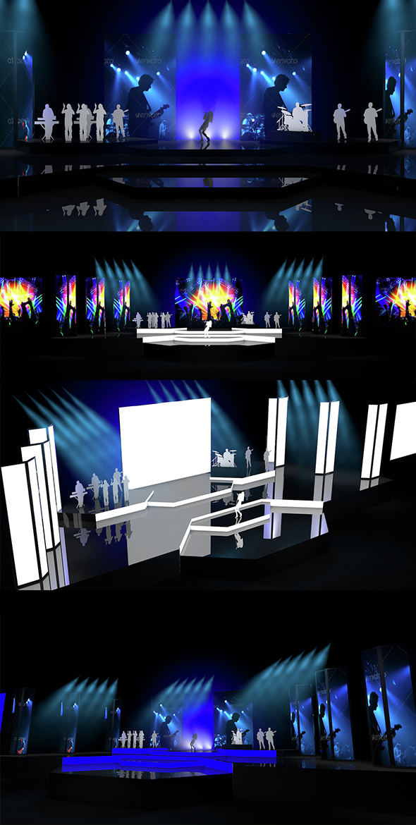 Stage Design vol. 3 - 3DOcean Item for Sale