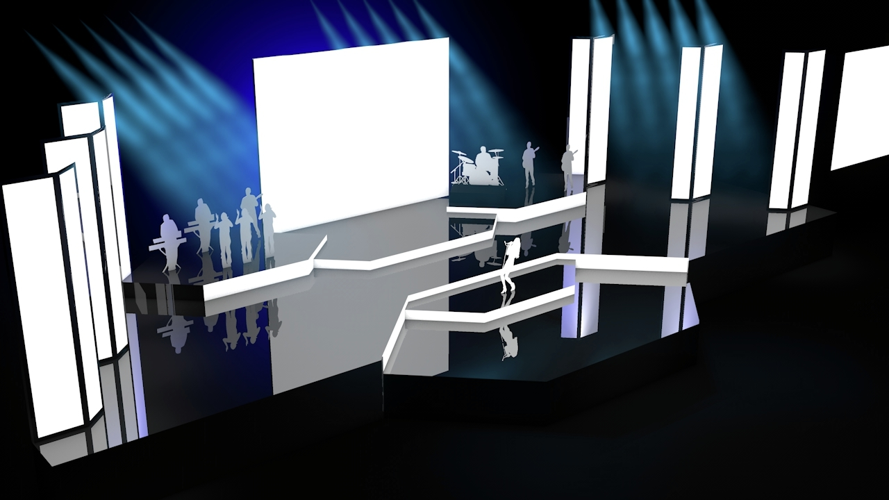 Stage Design Vol 3 By Wimstock 3DOcean