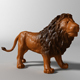 Lion 3d scanned