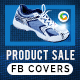 Product Sale Facebook Covers - 5 Designs