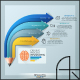 Modern Infographic Pencil Concept