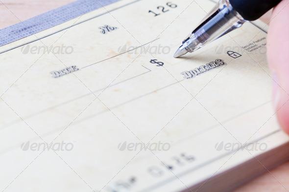 PhotoDune Writing Check 1512208