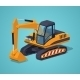 Yellow Excavator Special Machinery