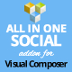 All in One Social Icons Addon for Visual Composer