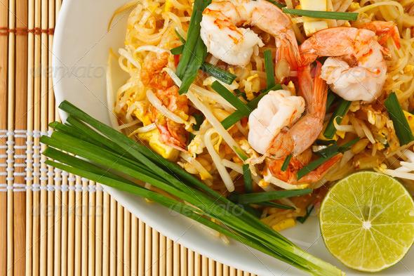 PhotoDune Thai stir-fried rice noodles Pad Thai 1517382