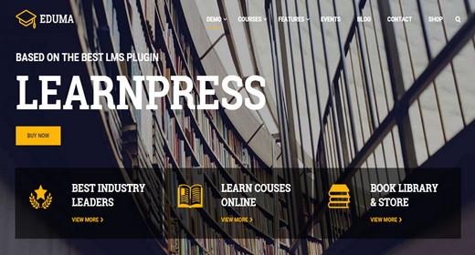 Professional Learn WordPress Themes