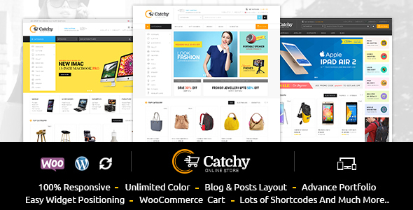 Catchy - Multipurpose WooCommerce Theme