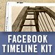 Type-107 Facebook Timeline Sampler Kit - GraphicRiver Item for Sale