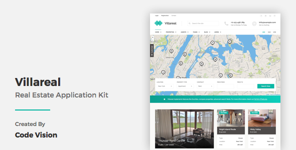 Villareal - Real Estate Application Kit
