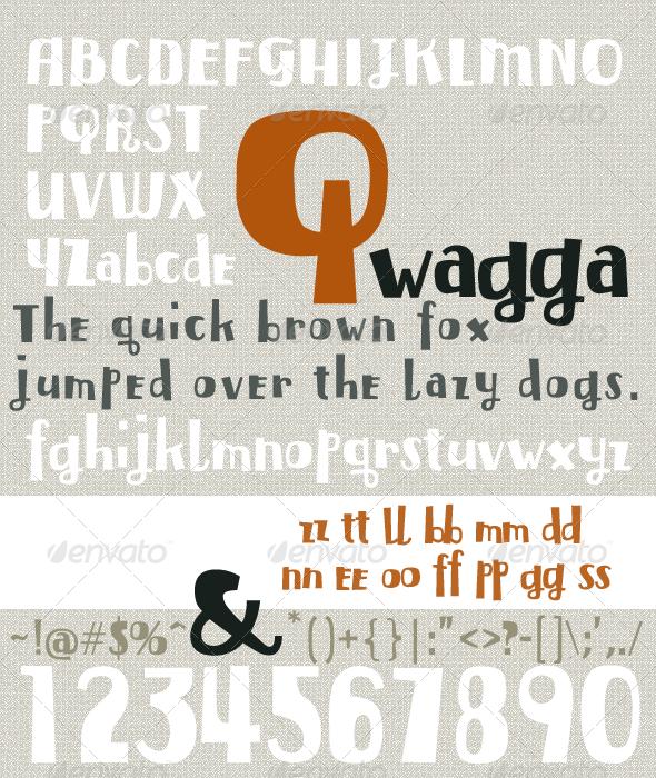Qwagga - Sans-Serif Fonts