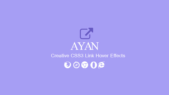 Download Ayan. CSS3 Link Hover Effects nulled download