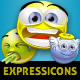 Expressicons Emoticon Set - GraphicRiver Item for Sale