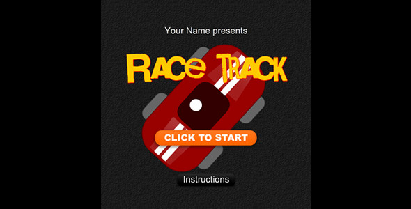 ActiveDen Race Track Game 1514829