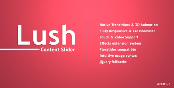 Lush - Content Slider