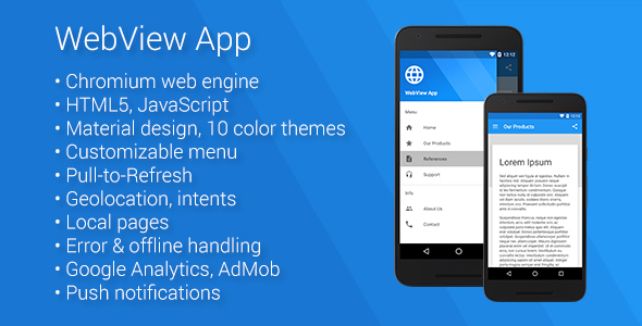 Download Universal Android WebView App nulled download