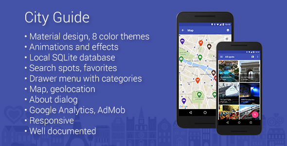 City Guide - Map App for Android - CodeCanyon Item for Sale