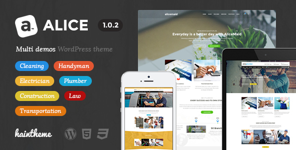 Alice - Multi-Concept Business WordPress Theme