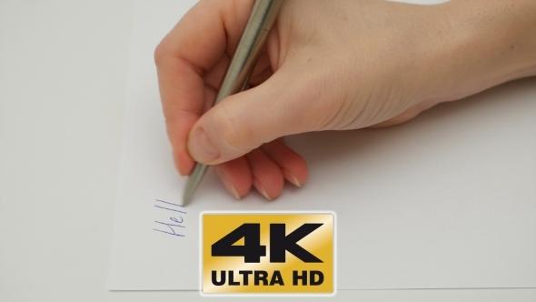 hand writing book videohive