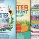 Easter Egg Hunt Flyer Bundle
