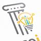 Finance Idea Logo Template