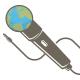 World Singer Logo Template