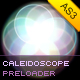 Caleidoscope Preloader - ActiveDen Item for Sale