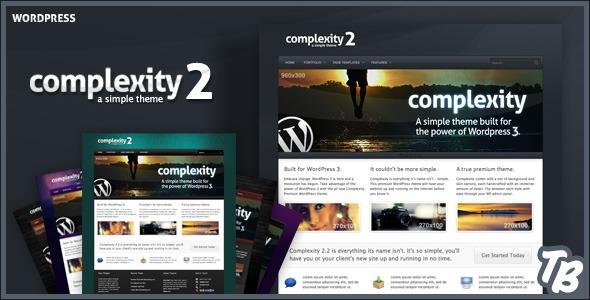 ThemeForest Complexity Premium WordPress Theme 111713