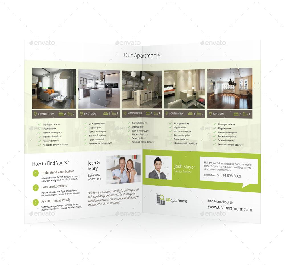 apartment for rent bifold halffold brochure by mike pantone rent bifold previewset 1 jpg rent bifold previewset 2 jpg
