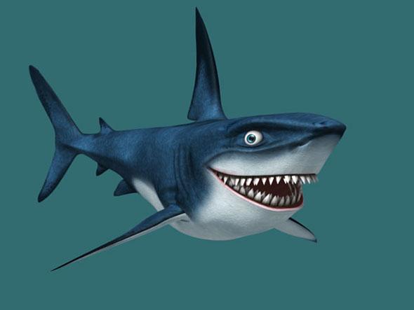 3DOcean sharky 179119