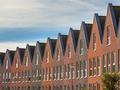 Facades of Modern family houses