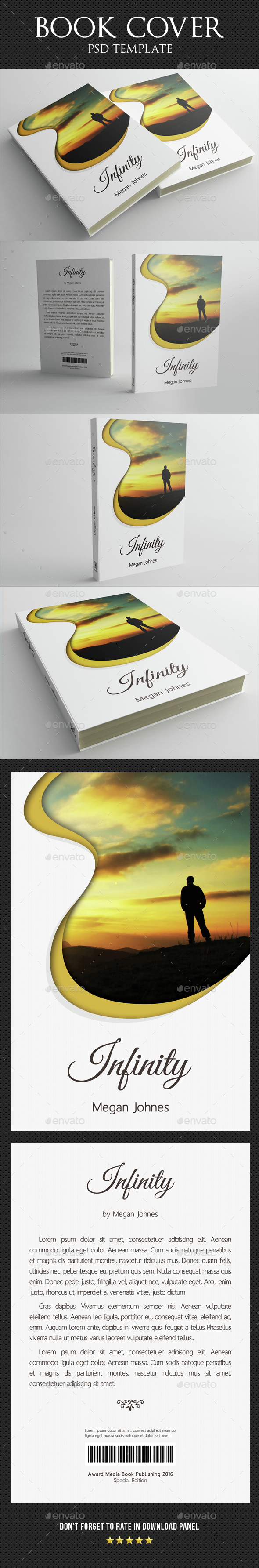 Book Cover Template 05