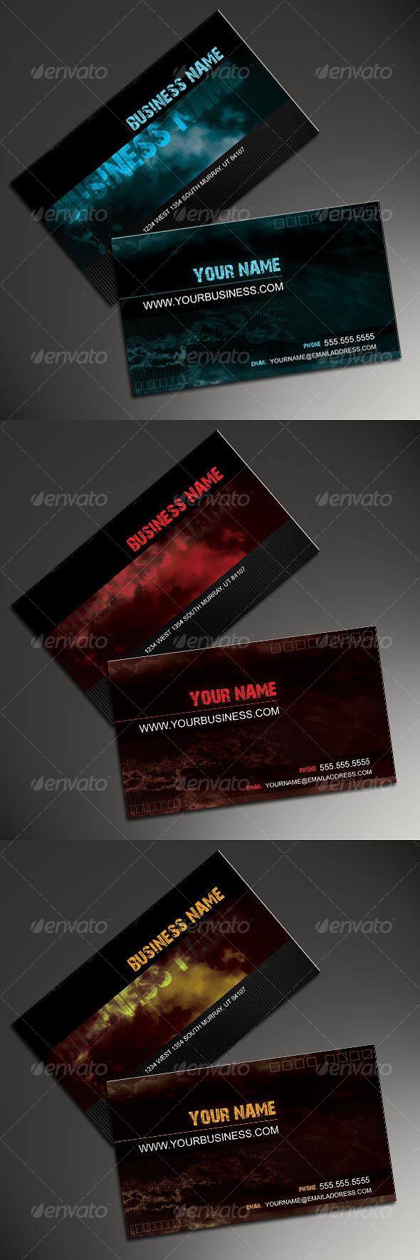 GraphicRiver Fall Business Card 59733