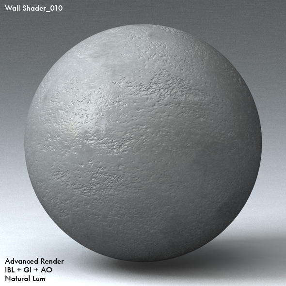 Wall Shader_010 - 3DOcean Item for Sale